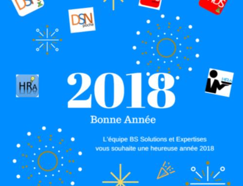 L'équipe BS Solutions et Expertises vous souhaite une heureuse année 2018.